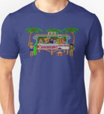 CALIFORNIA GAMES - SURF FAIL - MASTER SYSTEM T-Shirt