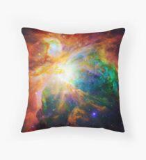 Heart of Orion Nebula | Infinity Symbol | Fresh Universe Throw Pillow