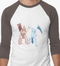 Samurai & Knight Men's Baseball ¾ T-Shirt