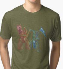 Samurai & Chevalier Tri-blend T-Shirt
