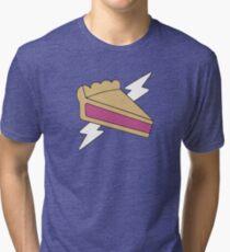PIE MAN SUPER HERO Tri-blend T-Shirt