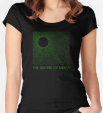 The Sisters Of Mercy - The Worlds End - Temple of Love Women's Fitted Scoop T-Shirt