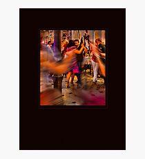 Passionate Tango Dancing. II Photographic Print