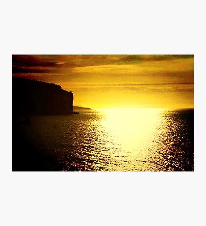 Sunrise on the Amalfi Coast Photographic Print