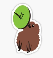 Double kiwi Sticker