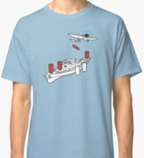 BATTLESHIP / SEA BATTLE  Classic T-Shirt