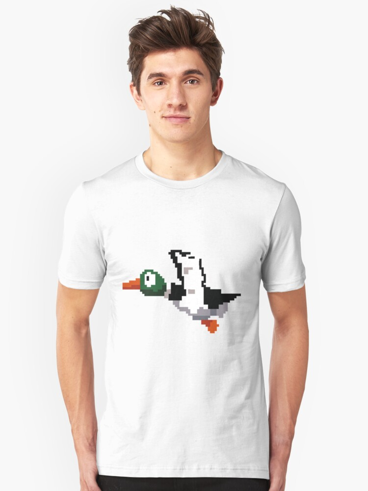 Hunted Duck  Unisex T-Shirt Front