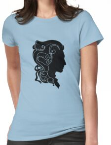 Rococo Silhouette: Monsieur Womens Fitted T-Shirt