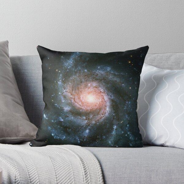 Pinwheel Galaxy   Infinity Symbol   Fresh Universe Throw Pillow