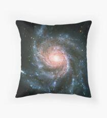 Pinwheel Galaxy | Infinity Symbol | Fresh Universe Throw Pillow