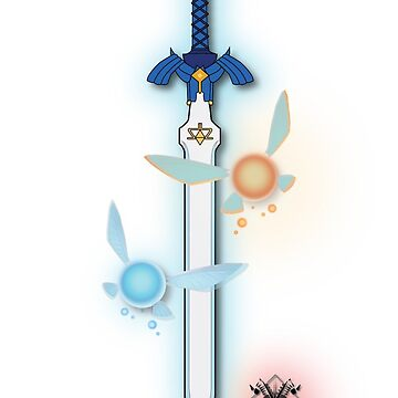 Legend of Zelda; Master sword & fairies by Akumas