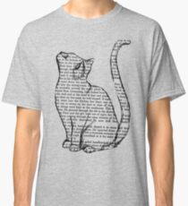 NEWSPAPER CAT tumblr merch! Classic T-Shirt