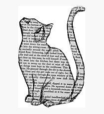NEWSPAPER CAT tumblr merch! Photographic Print