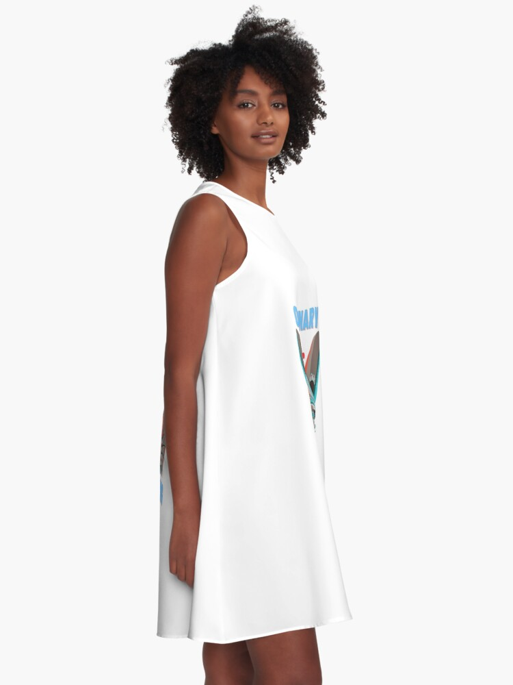 Alternate view of Ordinary is Boring, Have some attitude! A-Line Dress