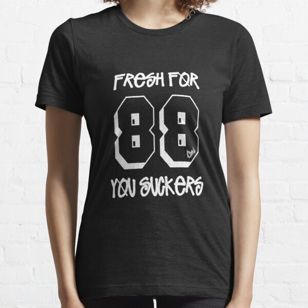 Fresh for 88 you suckers [wht] - Boogie Down Productions Essential T-Shirt