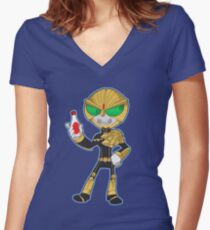 Kamen Rider Beast Women's Fitted V-Neck T-Shirt