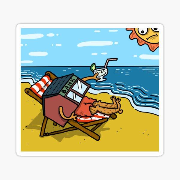 Bank Holiday Sticker