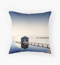 Matilda Bay Boat Shed Throw Pillow