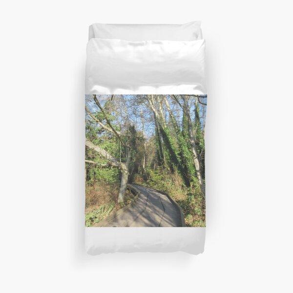 Path Through The Shadow Trees  Duvet Cover