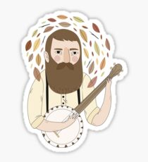 Banjo Sticker