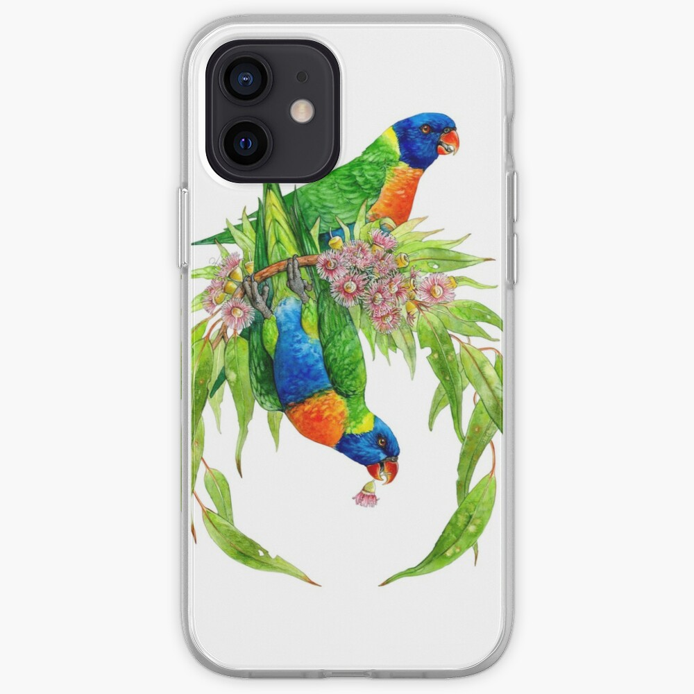 Rainbow Lorikeets iPhone Case & Cover