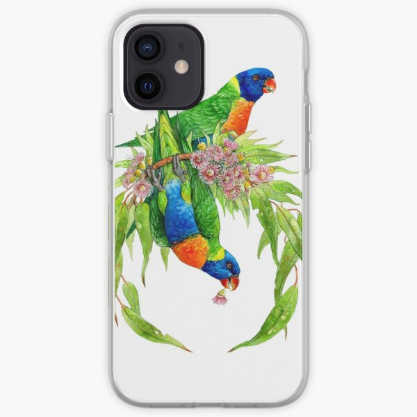 Rainbow Lorikeets iPhone Soft Case