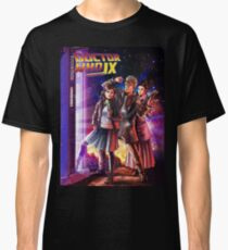 Doctor Who Back to the Future Classic T-Shirt