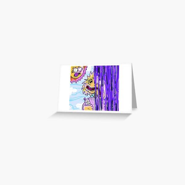 April Haze - Rain Greeting Card