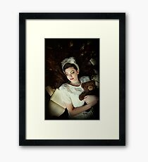 The Happy Wings of Story Framed Print