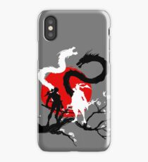 Dragon Brothers iPhone Case