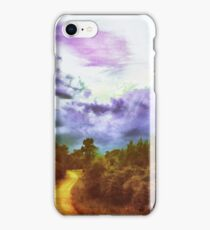 Red dirt roads iPhone Case/Skin