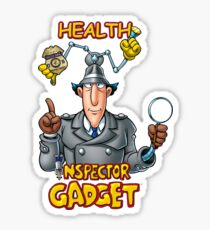 Health Inspector Gadget Sticker