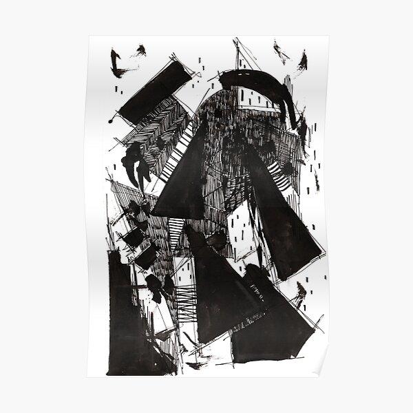 Monochrome Architecture 003 Poster