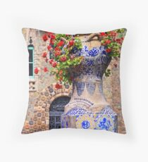 Repaired Throw Pillow