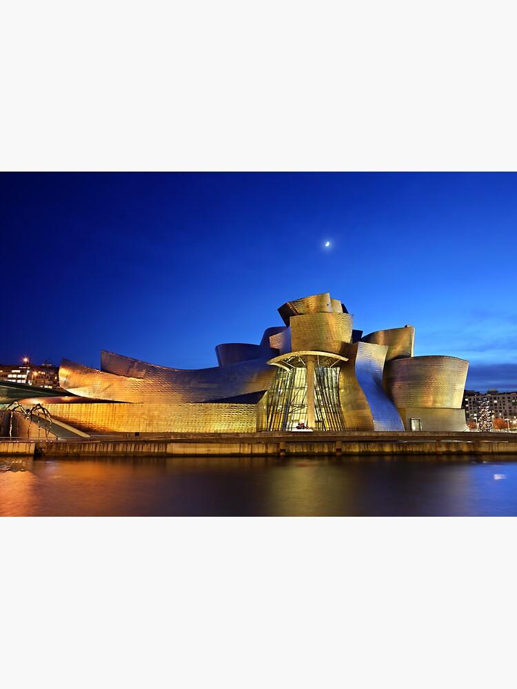 Nächte des Guggenheim Museums - Bilbao von Cretense72