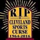 R I P Cleveland Curse by EthosWear