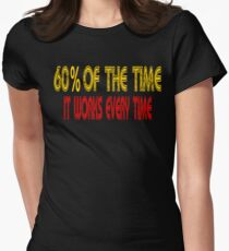 60% Of The Time It Works Every Time - Anchorman Women's Fitted T-Shirt