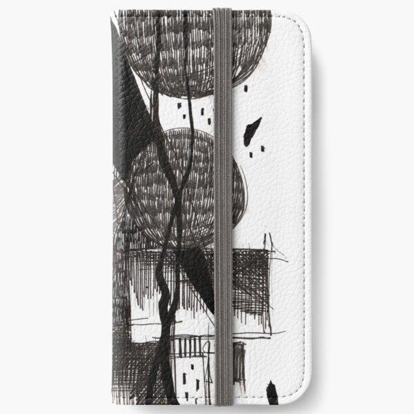 Monochrome Architecture 007 iPhone Wallet