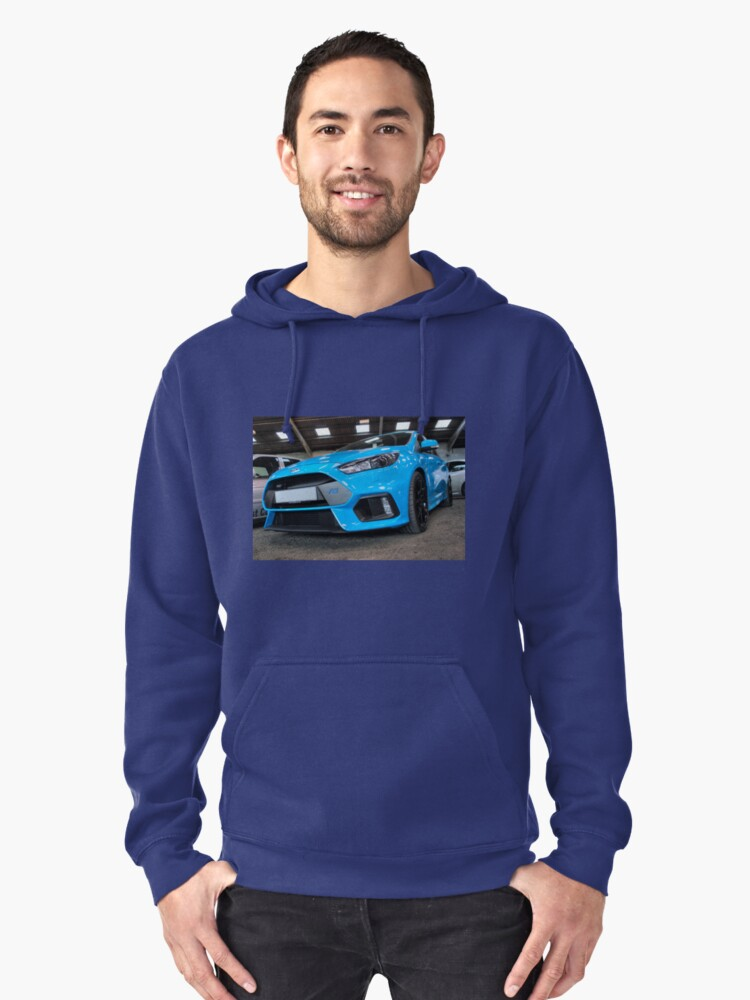 Blue Focus RS Pullover Hoodie Front