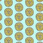 Watercolor lemon  by Alison Reckewey