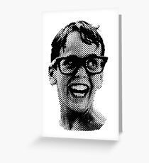 Squints, big Greeting Card