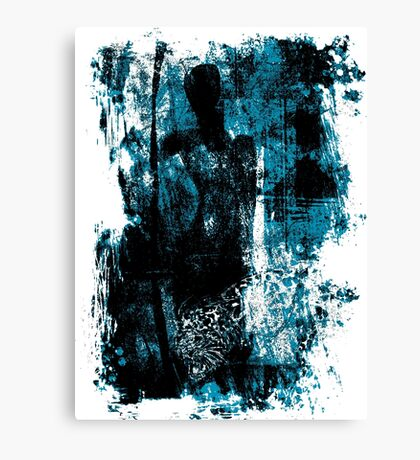 paleo warrior Canvas Print