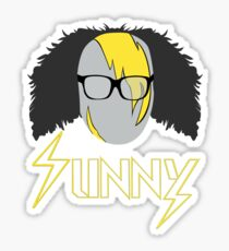 Frank Sunny Sticker
