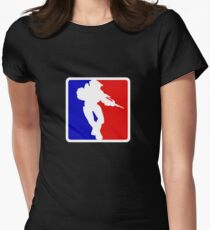 Halo Women's Fitted T-Shirt