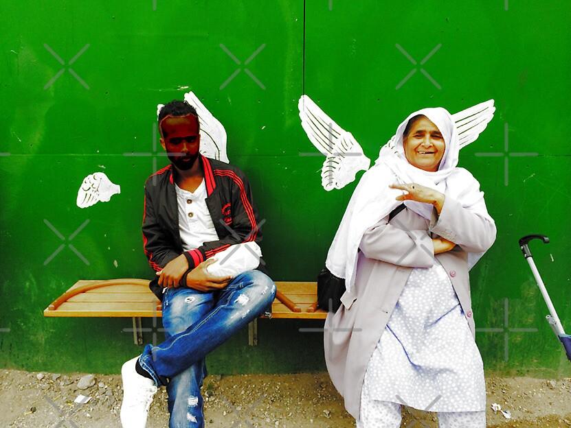 Angels in disguise by Hekla Hekla