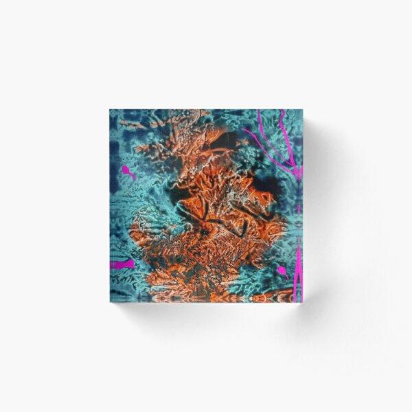 Aqua Reef Acrylic Block