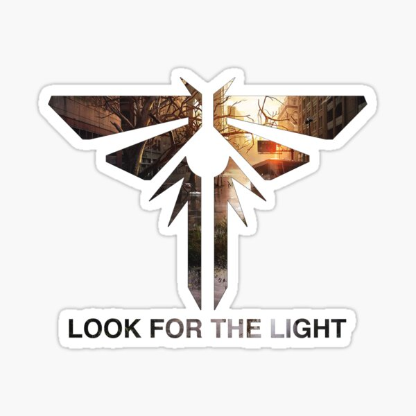 Look for the Light Sticker