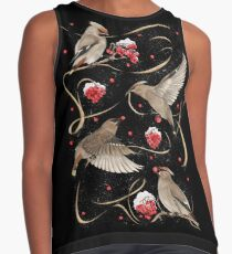 Birds and Berries Contrast Tank