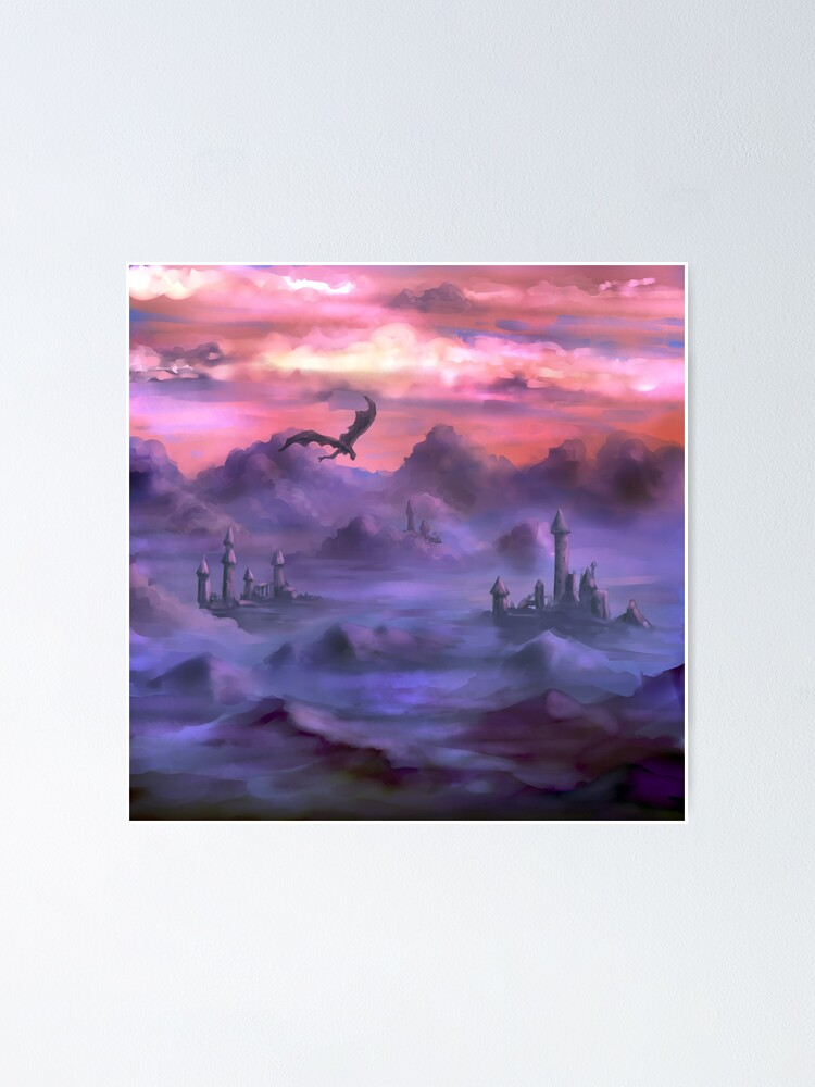Alternate view of Above the clouds Poster