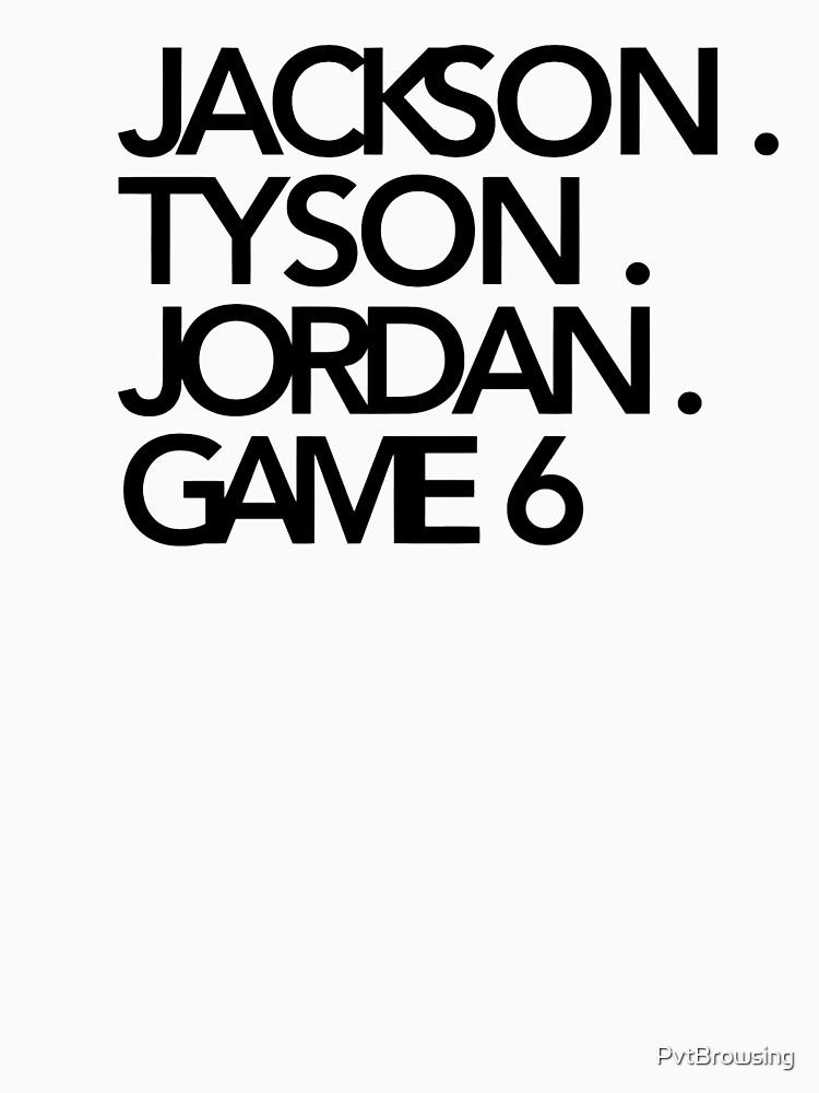 Jackson. Tyson. Jordanien. Spiel 6 - Jay-Z & Kanye West von PvtBrowsing